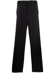 Lanvin Pleated Tailored Trousers Black