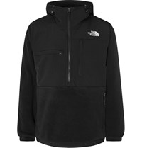The North Face Denali Panelled Fleece And Shell Anorak Black