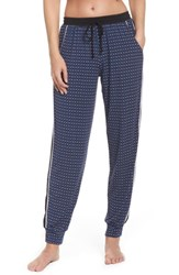 Dkny Women's Sleep Jogger Pants Ink Dot Geo