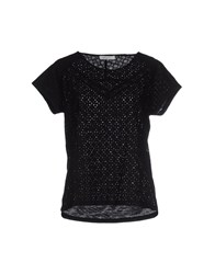 Bella Jones Topwear T Shirts Women Black