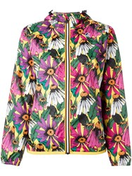 N 21 No21 Floral Print Hooded Jacket