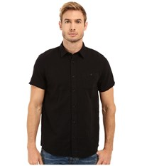 Threads For Thought The Mesa Linen Shirt Washed Black Men's Clothing