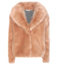 Opening Ceremony Faux Fur Coat Pink
