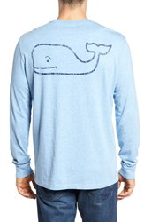 Vineyard Vines 'S Vintage Whale Graphic Pocket T Shirt Airy Blue