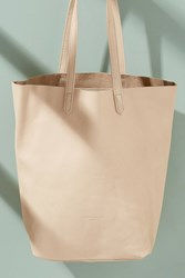 Liebeskind Magna Leather Tote Nude Chair