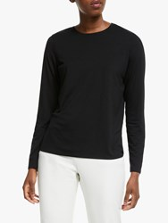 Eileen Fisher Crew Neck Top Black