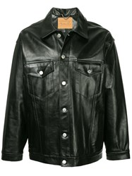 Martine Rose Double Chest Pocket Jacket Black