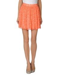 Paul And Joe Sister Skirts Mini Skirts Women Coral