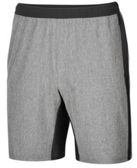 Ideology Id Men's Stretch Woven Performance Shorts Created For Macy's Grey Heather