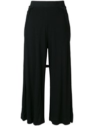 Lost And Found Ria Dunn Bretelle Pants Black