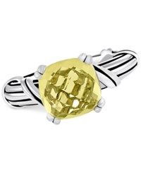 Peter Thomas Roth Lemon Citrine Ring 4 Ct. T.W. In Sterling Silver Yellow