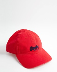 Superdry Cap Red