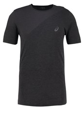 Asics Sports Shirt Dark Grey Heather