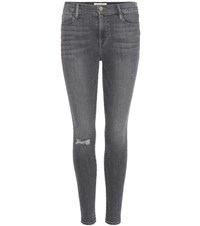 Frame Le High Skinny Jeans Grey