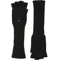 Barneys New York Fingerless Convertible Mittens