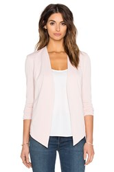 Bcbgeneration Drape Front Jacket Blush