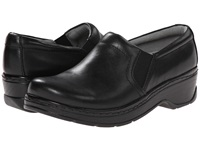 Klogs Usa Naples Black Leather Women's Clog Shoes
