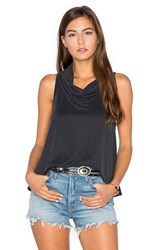 Nation Ltd. Asher Crop Tank Charcoal