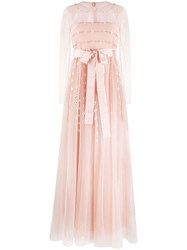 Red Valentino Floral Pattern Evening Dress 60