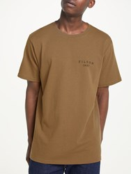 Filson Outfitter Graphic Print T Shirt Rugged Tan