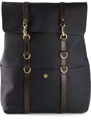 Mismo Square Backpack Blue