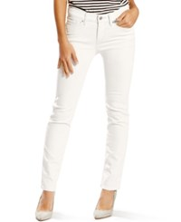 Levi's 712 Slim Fit Jeans Soft Clean White