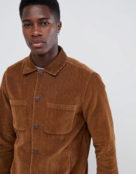 Only And Sons Cord Jacket Brown