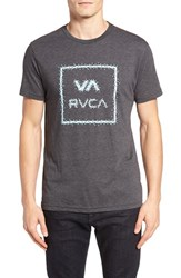 Rvca Men's Digi Va All The Way Graphic T Shirt Black