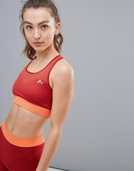 Only Play Seamless Sports Bra Red