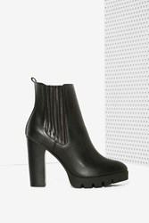 Nasty Gal Report Polk Vegan Leather Boot