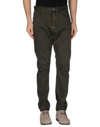 Red Soul Casual Pants Dark Green