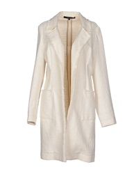 Brian Dales Full Length Jackets Ivory