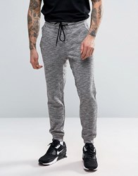 Pull And Bear Pullandbear Skinny Joggers In Grey Marl Grey