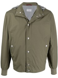 Brunello Cucinelli Fitted Hooded Jacket 60