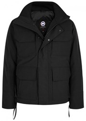 Canada Goose Maitland Hooded Shell Jacket Black