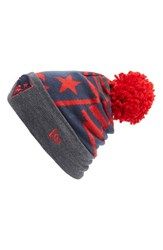 Men's New Era Cap 'Logo Whiz New England Patriots' Pompom Knit Beanie