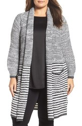 Melissa Mccarthy Seven7 Plus Size Women's Long Open Front Cardigan