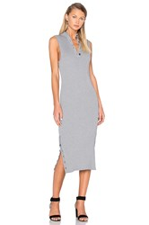 C Meo Collective Life Is Real Knit Dress Gray