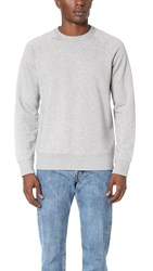 Our Legacy 50S Great Sweatshirt Grey Melange White