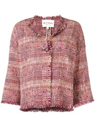 Etro Knitted Jacket Red
