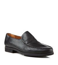 Stemar Leather Wide Fit Loafer Male