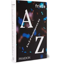Phaidon Frieze A To Z Of Contemporary Art Hardcover Book Black