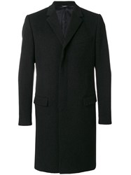 Dolce And Gabbana Classic Coat Men Silk Cupro Cashmere Virgin Wool 50 Grey