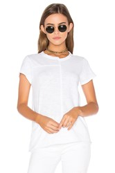 Wilt Slub Shifted Baby Tee White