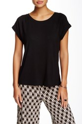 Tart Dharma Split Back Blouse Black