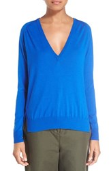 Proenza Schouler Women's Superfine Merino Wool V Neck Sweater