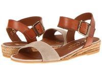 Eric Michael Amanda Taupe Women's Sandals