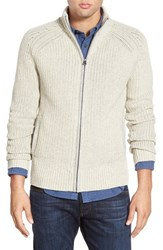 Men's Lucky Brand 'Glacier Peak' Rib Knit Zip Sweater