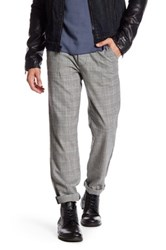 Rogue Plaid Print Pant Gray