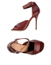 Celine Celine Sandals Deep Purple